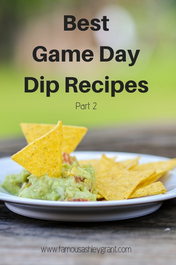 Game Day Dip Recipes Roundup 2