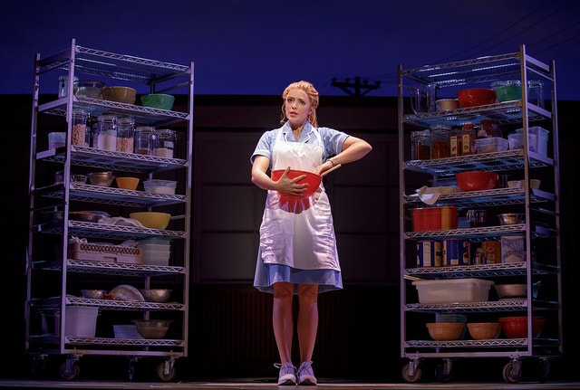 Desi Oakley in Waitress
