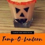 The TAMP-O-LANTERN cocktail