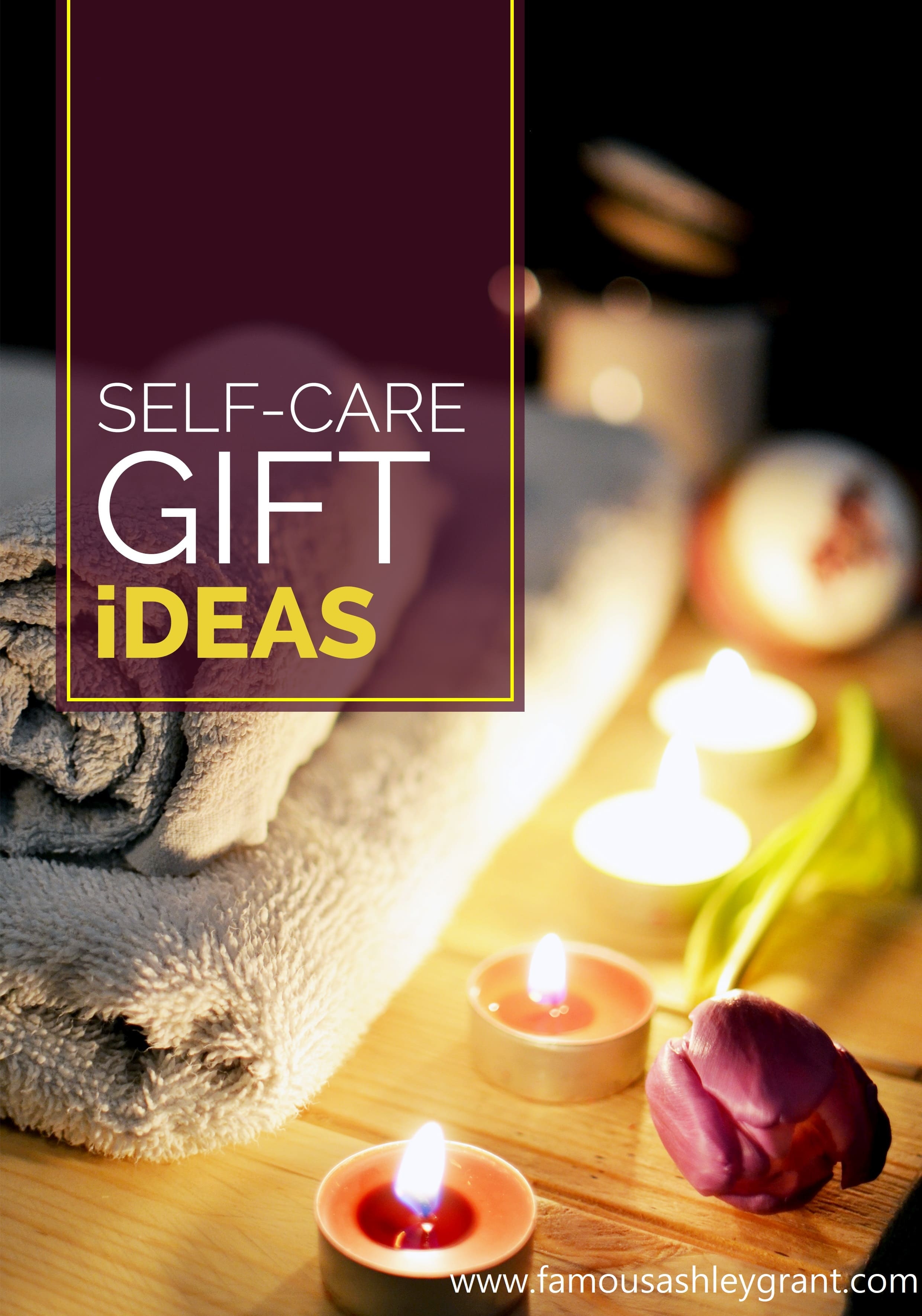 Looking for a gift for someone who needs to indulge more in self-care? You've come to the right place! This post is full of self-care gift ideas.