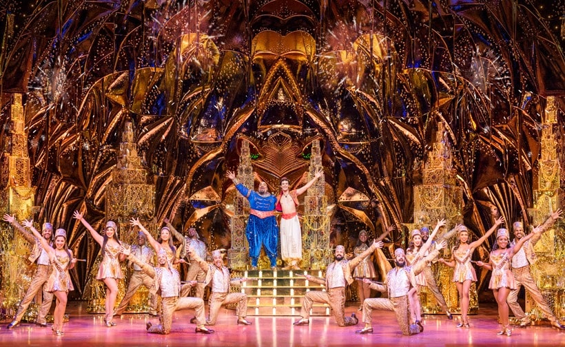 Aladdin The Musical At Straz Cast Ensemble 1