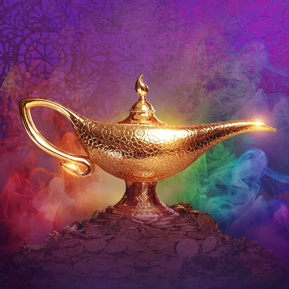 Aladdin The Musical At Straz Lamp