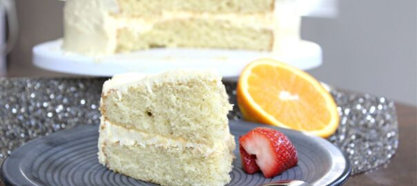 Boxed Cake Remix- Orange Vanilla Cake Header