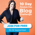 Join Me in the 10 Day Blog Challenge with Natalie Sisson ***time sensitive!***