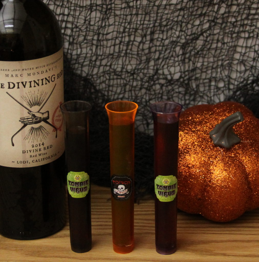 These Zombie Virus Shots are the perfect cocktail for your next Halloween or Zombie Themed event!