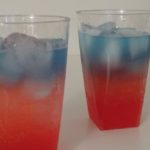 Red White and Blue Fruity Mocktail