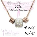 Enter to win a Isabelle Grace LaPunta Pendant Thru 10/31