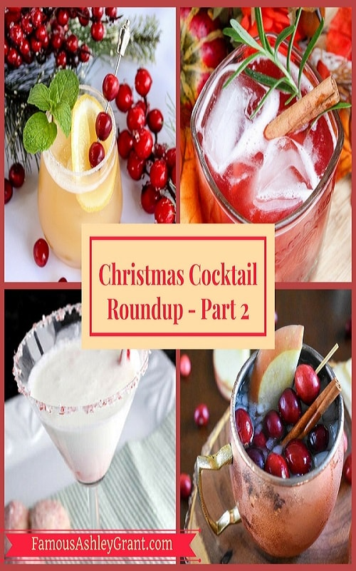 This is part two of my Christmas Cocktail Roundup. There are so many delicious drinks here that you're guaranteed to have your holidays be merry and bright!