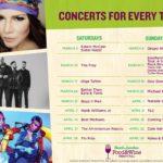 Busch Gardens Food & Wine Festival Concert Lineup 2018