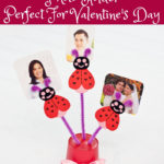 Create an Adorable Love Bug Tabletop Photo Holder