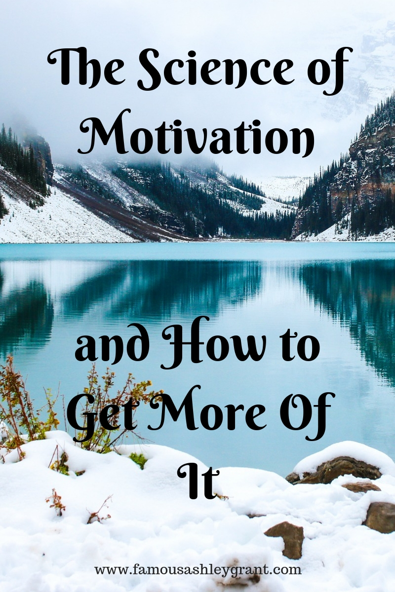 Need more motivation? I can relate! This article features the science of motivation, and how to get more of it!