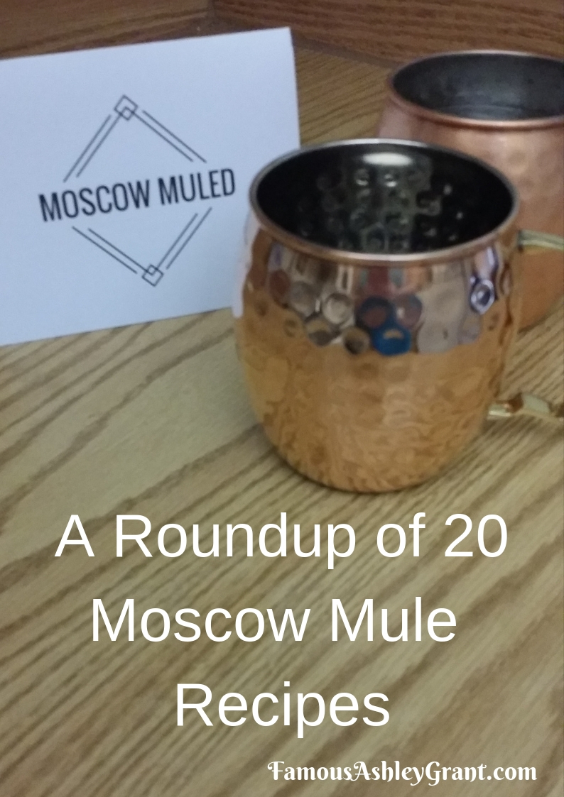 I love a good Moscow Mule, and this post features 20 awesome Moscow Mule recipes.