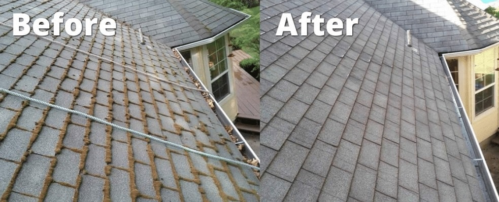 Residential Pressure Washing Roof Cleaning Service