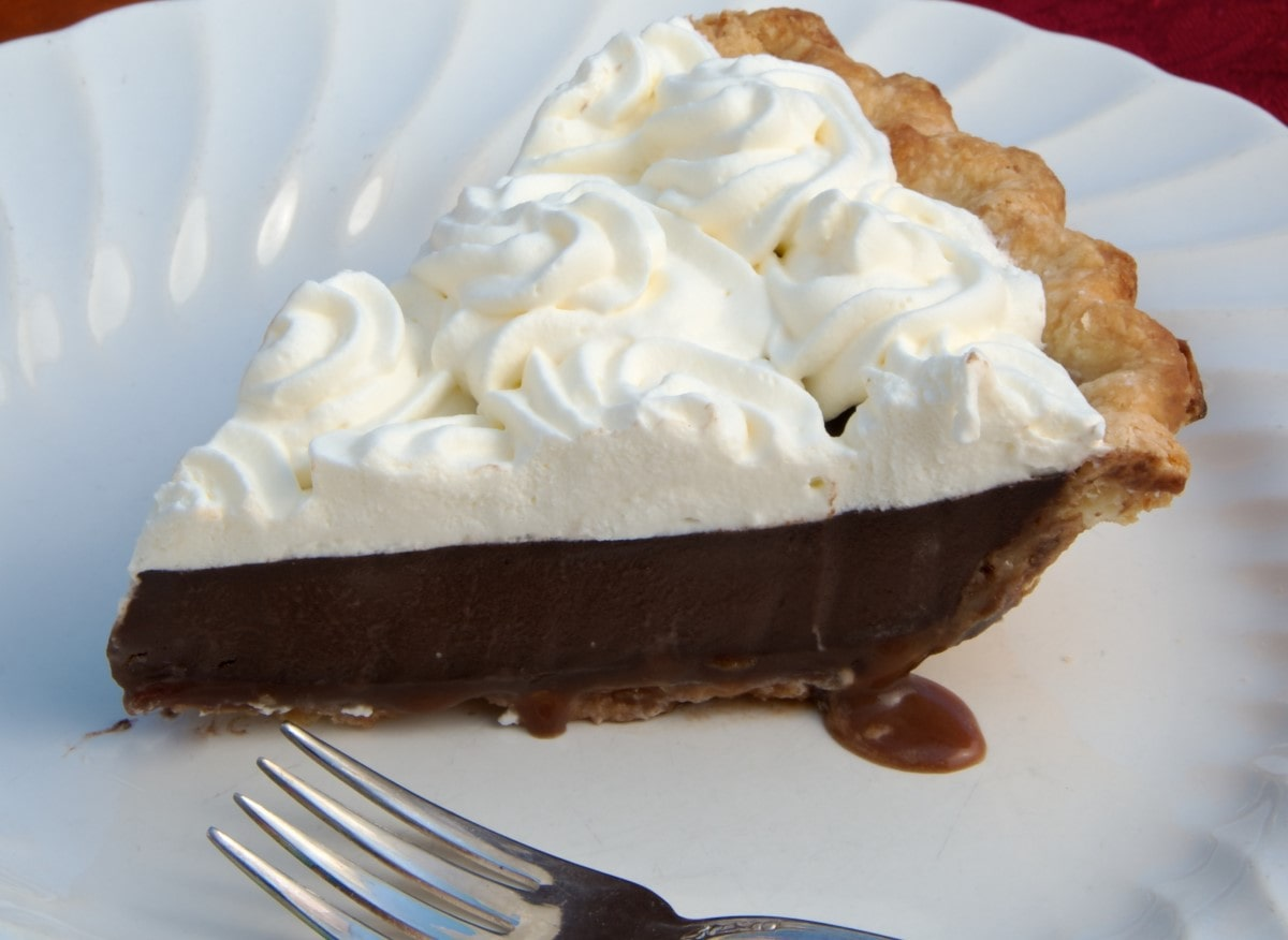 Chocolate Pudding Pie Dessert